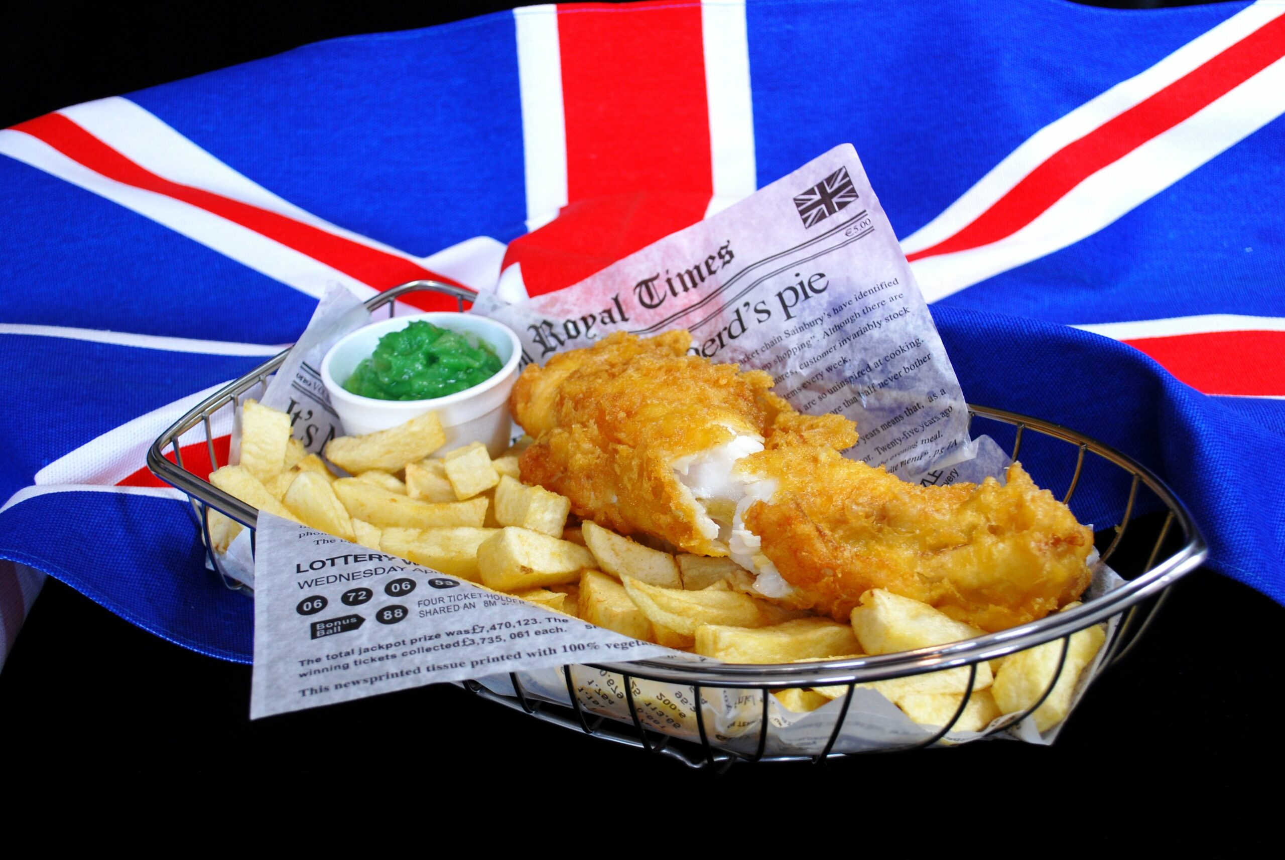 Fish and chips facile